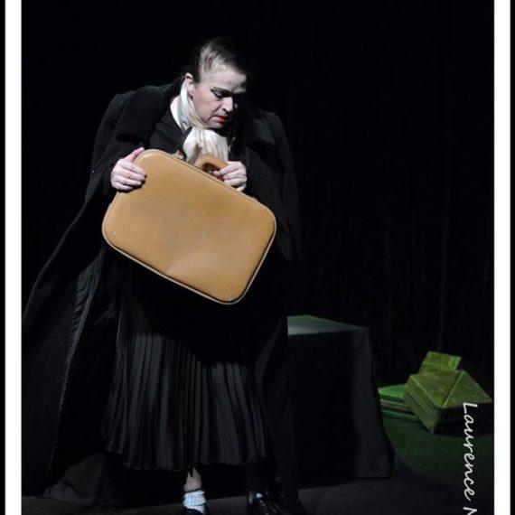 sylvie pothier au theatre de l'Atelier Bleu